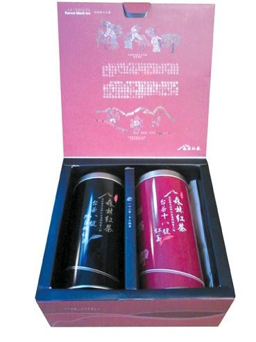 Assam und Red Jade im Geschenkkarton