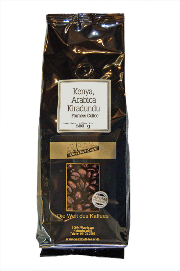 Kenya, Arabica Kiradundu, Farmers Coffee